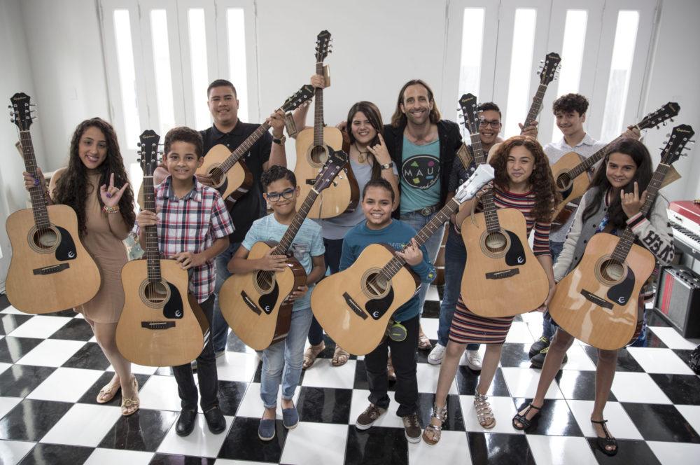San Juan Sound – Gift of Sound – Burr W:Students – Photo By Wanda Liz Vega 3:10:18-26